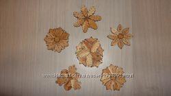 Подставки деревянные из можжевельника