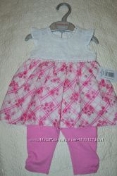 Комплект Платье и лосины 0-3 мес Matalan