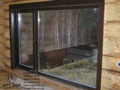 купить деревянные окна в Киеве
