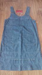 Красивый, практичный  и удобный джинсовый сарафан для будущей мамочки.