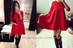 платье Трапеция  0024