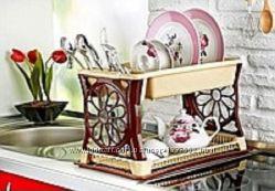 Сушка для посуды Ромашка