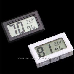 Гигрометр - термометр цифровой. Мини.