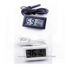 Гигрометр термометр цифровой с выносным датчиком. Мини.