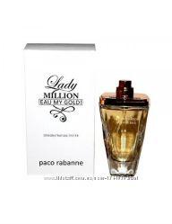 Тестер Paco Rabanne Lady Million Eau My Gold