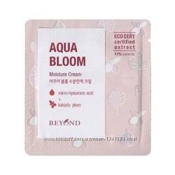 Увлажняющий крем, пенка для умывания  Beyond Aqua bloom moisture cream