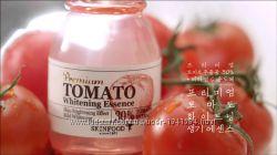 Skinfood серия Premium Tomato, пробники, осветляющая серия, эмульсия, крем