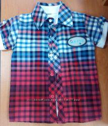 Рубашка футболка , комплект 2ка размеры на 2, 4 , 5 лет