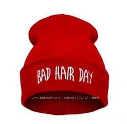 Зимняя шапка Bad hair day