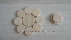 Заготовки деревянные для рун украшений и декора