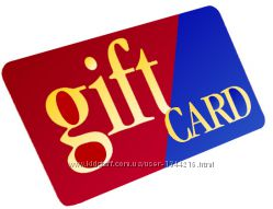 gift card гифт карты Корс Ральф Тойс Волмарт Картерс