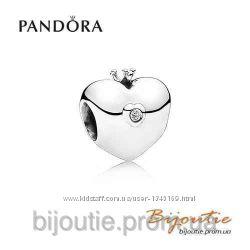 Pandora шарм клубный 791702D серебро 925 Пандора оригинал