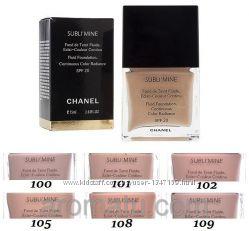 Тональный крем для лица Chanel Sublimine Шанель Саблимайн