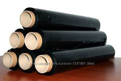 Стретч-пленка черного цвета, Черная пленка для упаковки,  плёнка чёрная