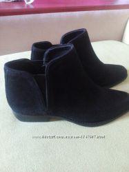 Замшевые ботинки Манго