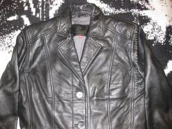 Кожаная куртка Laura di Sarpi, 38 р