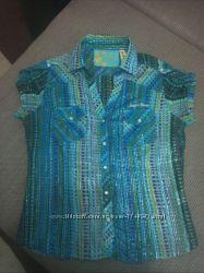 Фирменная блузка блуза футболка Junker 46-48р. М