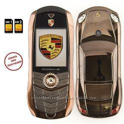 Телефон Porsche Cayman 2Sim металлический корпус