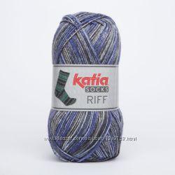 Носочная пряжа Katia RIFF