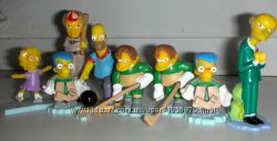 Игрушки из киндера Симсоны The Simpsons