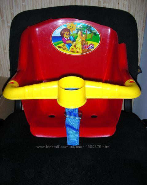 Качеля, можно использовать как стульчик для малыша