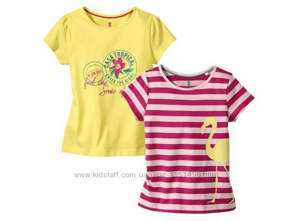Продам футболки на девочку немецкой фирмы Lupilu