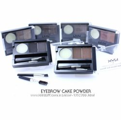 Пудра для бровей Nyx Eyebrow Cake Powder