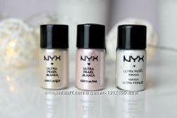 Рассыпчатые тени-пигменты NYX Loose Pearl Eye Shadow