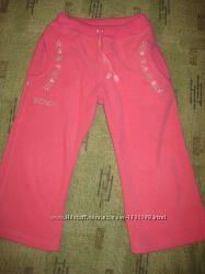 Флисовые штанишки для девочки на 2-3 годика