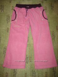 Флисовые штанишки для девочки 3-4 года