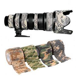 Лента камуфляжная эластичная для камуфлирования оружия, оптики