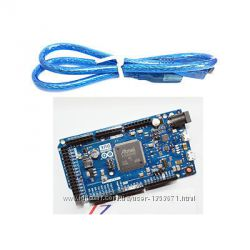 Arduino DUE R3 Board AT91SAM3X8E 32-bit 3. 3В  USB