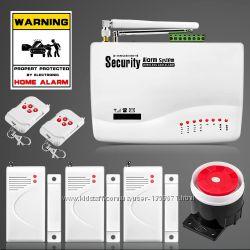GSM сигнализация, охранная система. Security Alarm System