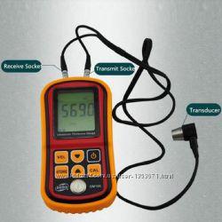 Толщиномер GM100 - ультразвуковой измеритель толщины. Уценка.