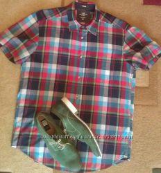 Яркая, летняя рубашка H&M хлопок