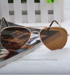 Винтажные солнцезащитные очки женщины и мужчины зеркальные линзы
