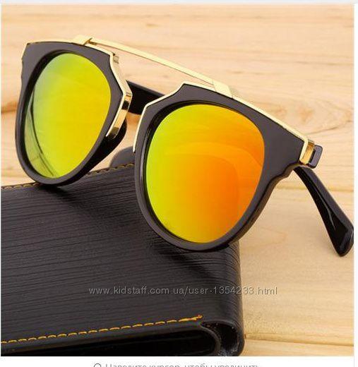 Модные женские солнцезащитные очки  марка designer vintage