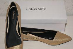 Кожа Calvin Klein туфли с Америки 9, 5 оригинал. Срочно