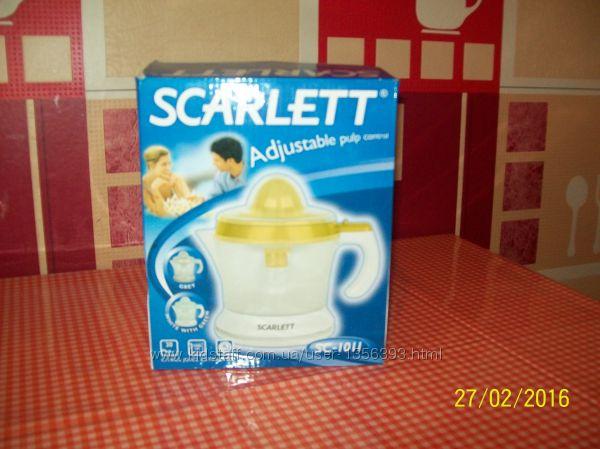 Новая Соковыжималка для цитрусовых Scarlett SC-1011