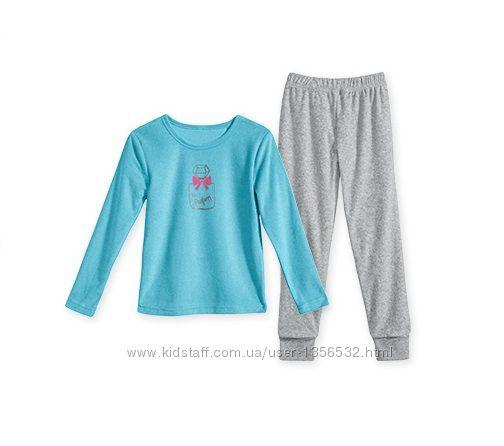 Пижама махровая, комплект для сна, 128, Alive, Германия