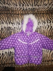 Зимний комбинезон для девочки Lenne 80-86