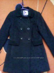 Демисезонное молодежное пальто 44-46р