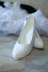 Шикарные свадебные туфли