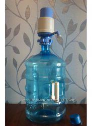 Набор для розлива питьевой воды помпа бутыль новый