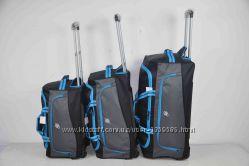 Дорожная сумка на колесах с выдвижной телескопической ручкой