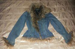 Куртка стильная джинс р. 44-46 М