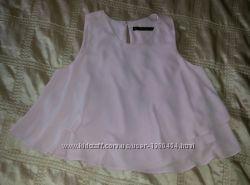 Элегантная блуза майка Zara р. 44-46 М