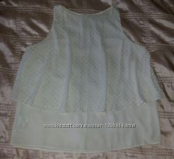 Элегантная блуза майка футболка р. 46-48 L