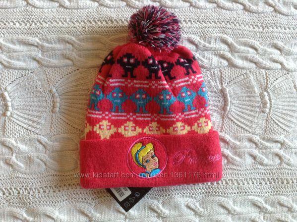Новая теплая шапка с принцессой Disney