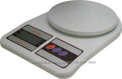 Кухонные весы до 10 кг с батарейками Оригинал